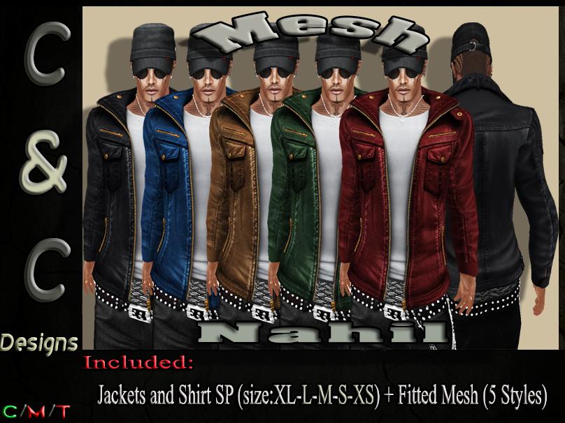 C&C Mesh Nahil Men's (5 Styles).png