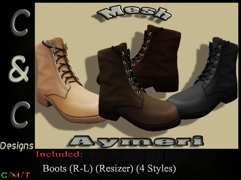 C&C Mesh Aymeri Men's (4 Styles).png