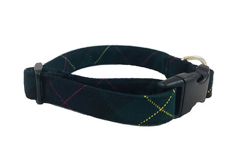 "Collar para Perro ""Verde a Cuadros"""