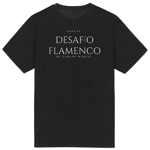 Camiseta de ensayo negra