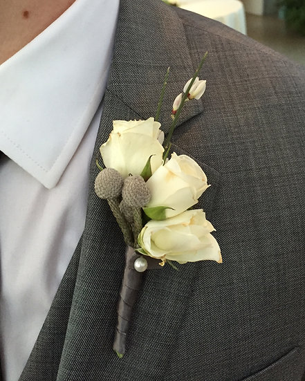 Baby Rose Boutonniere