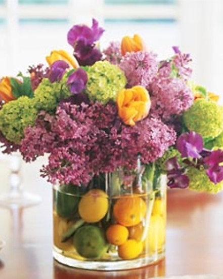 Lavendar Lilac Arrangement