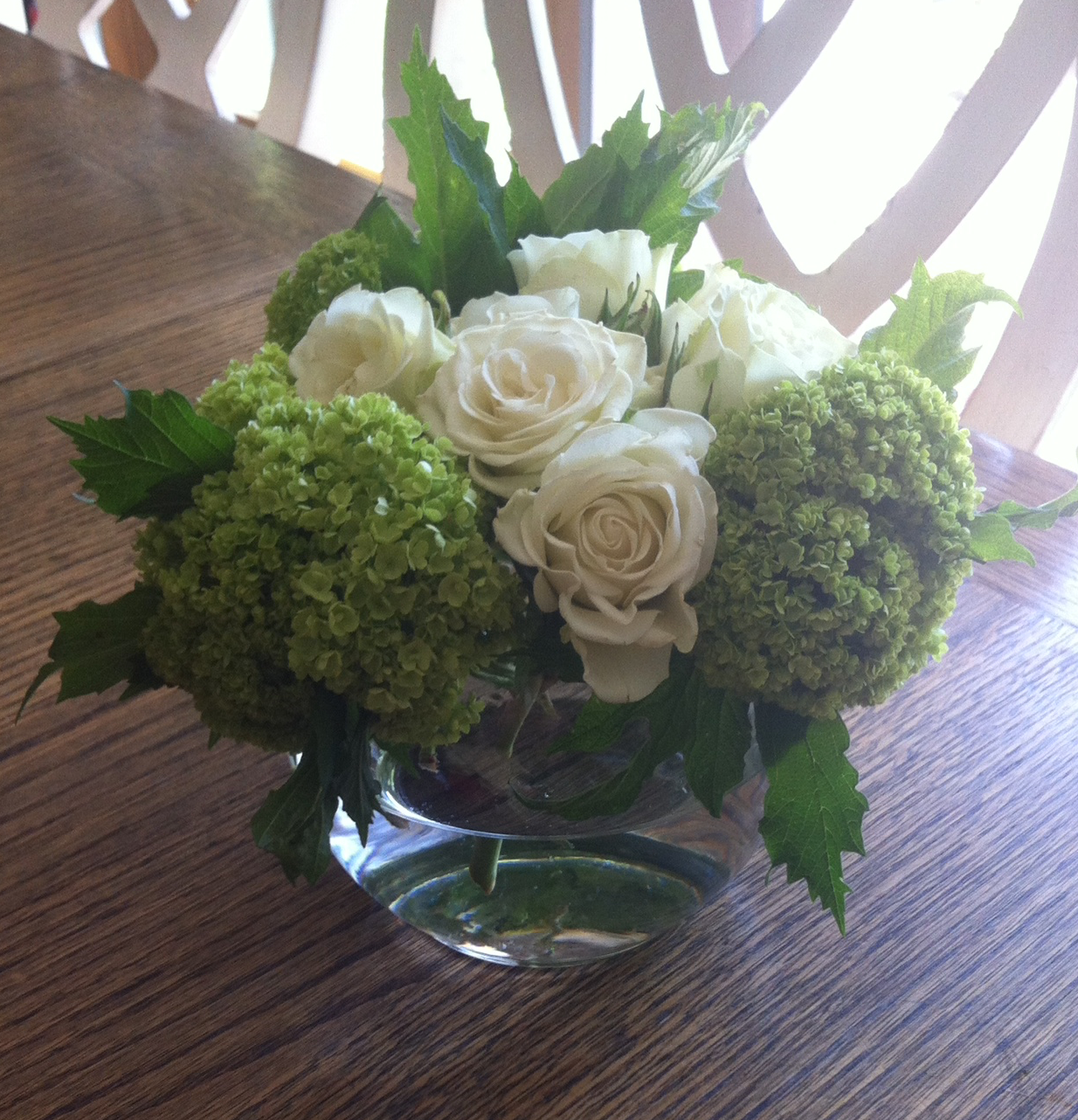 White Roses and Green Hydrangeas.png