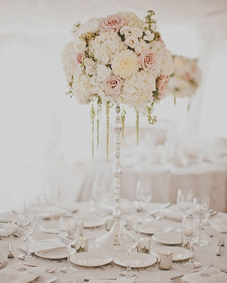 Whites and Very Light Pinks Arrangent