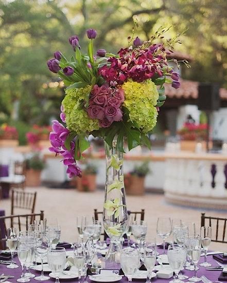 Purple xxxx and Green Hydrangea