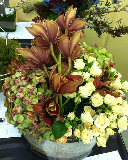 Tropical Flair Arrangement