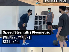 Strength & Power starting in June at Noon