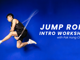 Jump rope intro workshop w/ Pak Hung Cheung