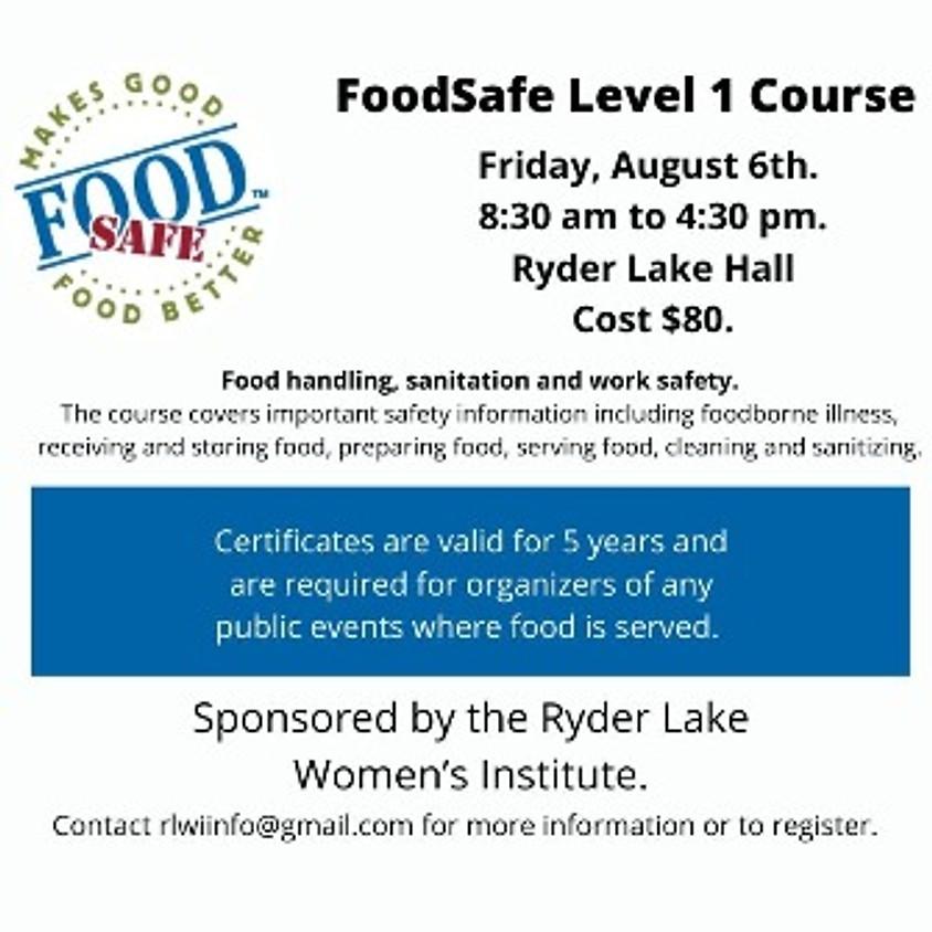 FoodSafe Level 1 course
