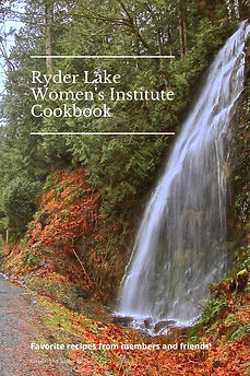 Ryder Lake Women's Institute Cookbook.jp