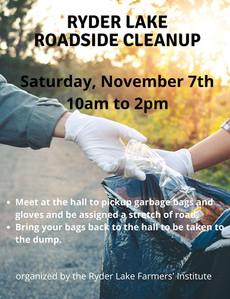Roadside cleanup 2020