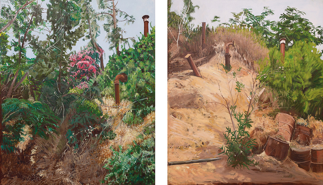 Above The Bunker, Diptych