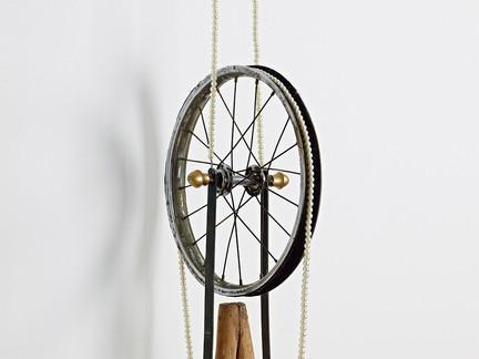 Duchamp's Crutches, detail