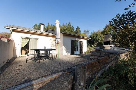 Location villa la Salvetat Sur Agout bord du lac de la Raviège
