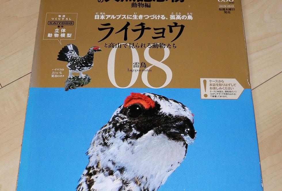 日本の天然記念物 ライチョウ(付録有) 小学館
