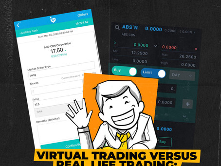VIRTUAL TRADING VS. REAL LIFE TRADING: A ROOKIE PERSPECTIVE