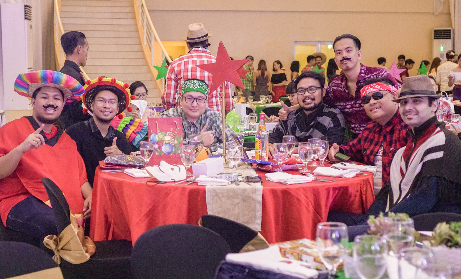 ZFT Cinco De Tribo Christmas Party 2018.