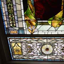 TIffany Window After - Bottom