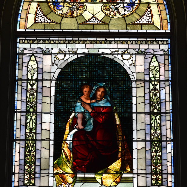 Tiffany Window After