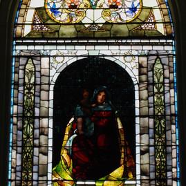 Tiffany Window Before