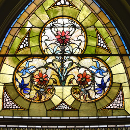 Tiffany Window After - Top