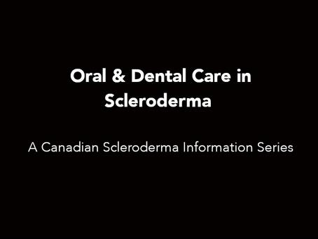Oral & Dental Care in Scleroderma