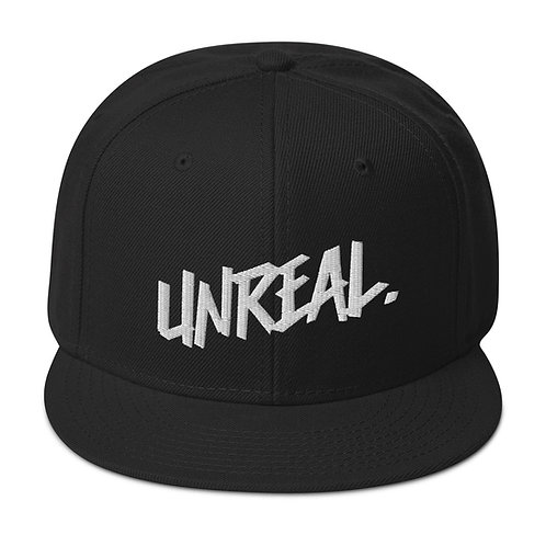 """Unreal"" Snap back Hat"
