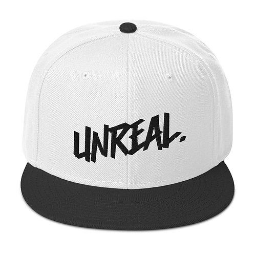"""Unreal"" Snap back Hat"