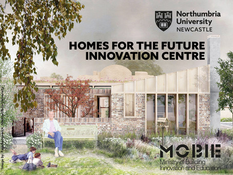 Northumbria University teams up with George Clark to offer funding for Homes for the Future