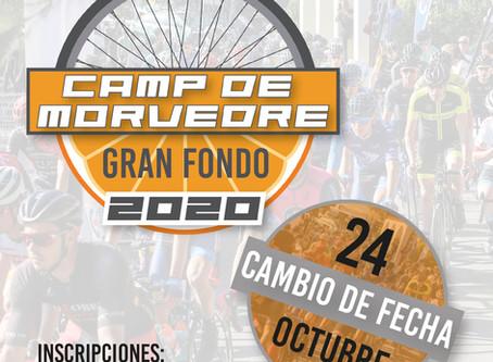 CAMBIO DE FECHA GF CAMP DE MORVEDRE 2020