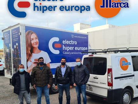 GRUPO MARCA SE UNE A ELECTRO HIPER EUROPA COMO CO-PATROCINADOR DEL EQUIPO ELITE/SUB23 EN 2021.
