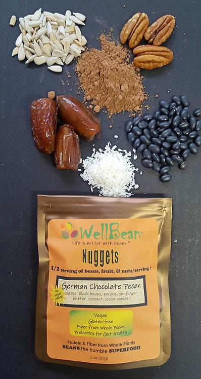 German Chocolate Pecan Nuggets 6oz