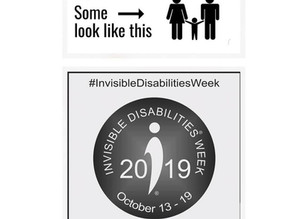 INVISIBLE DISABILITIES WEEK (2019)
