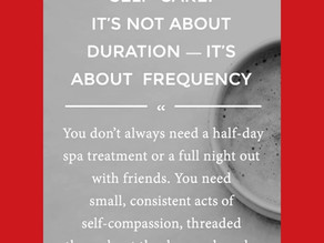 SELF-CARE DURATION