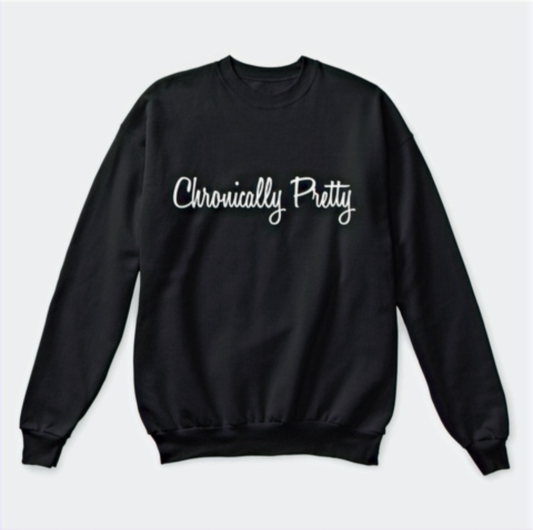 Black Crewneck Chronically Pretty Sweater