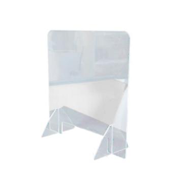 Transparant Sanitair Bureauscherm