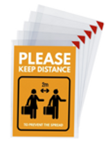 A4 Kang Easy Clic Signage Pockets