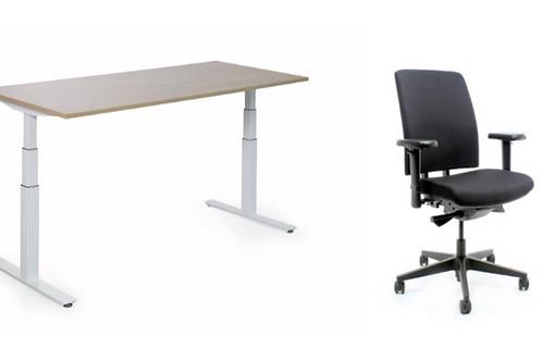Set: Zit-sta Tafel + Bureaustoel