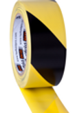 Geel zwarte safety tape rol