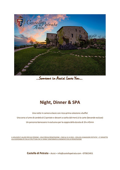 Night, Dinner & SPA - PDF
