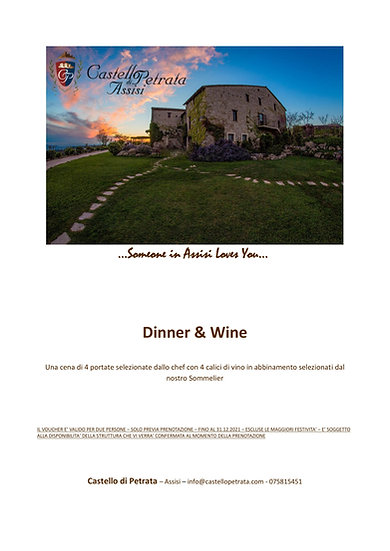Dinner & Wine - PDF