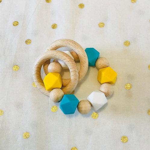 Hochet éveil & dentition Mimosa