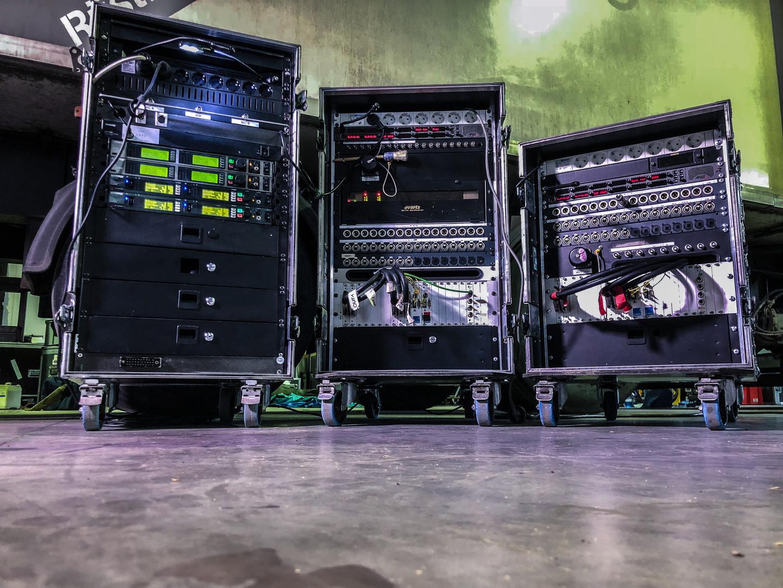 Glasfaser Stageboxen