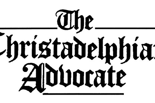 The Christadelphian Advocate Subscription