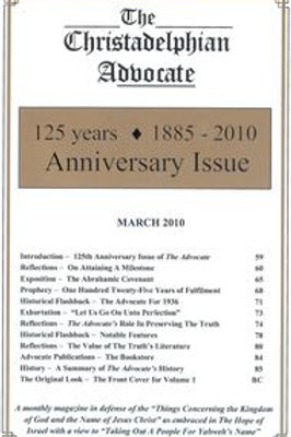 Anniversary Issue 125 Years: 1885 - 2010