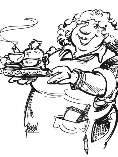 Tea Shop Lady