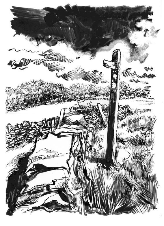 Derbyshire Sign