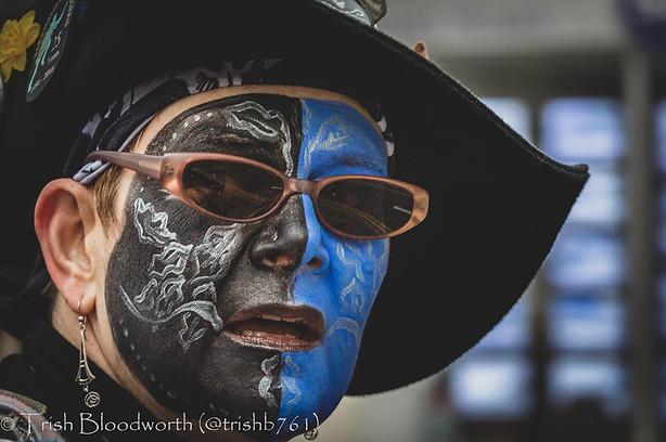 Blue Face