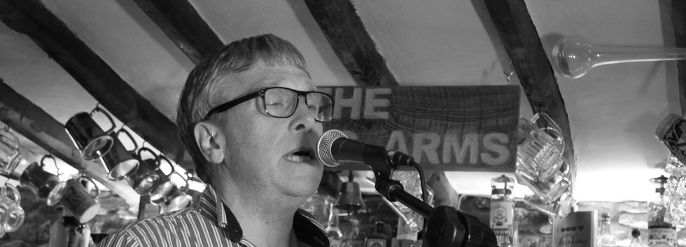 Robin Burton: Vocals and Melodeon