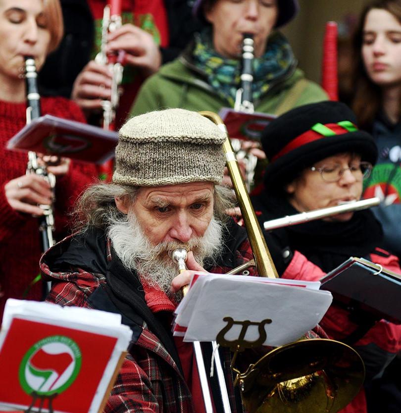 Trombone volunteer